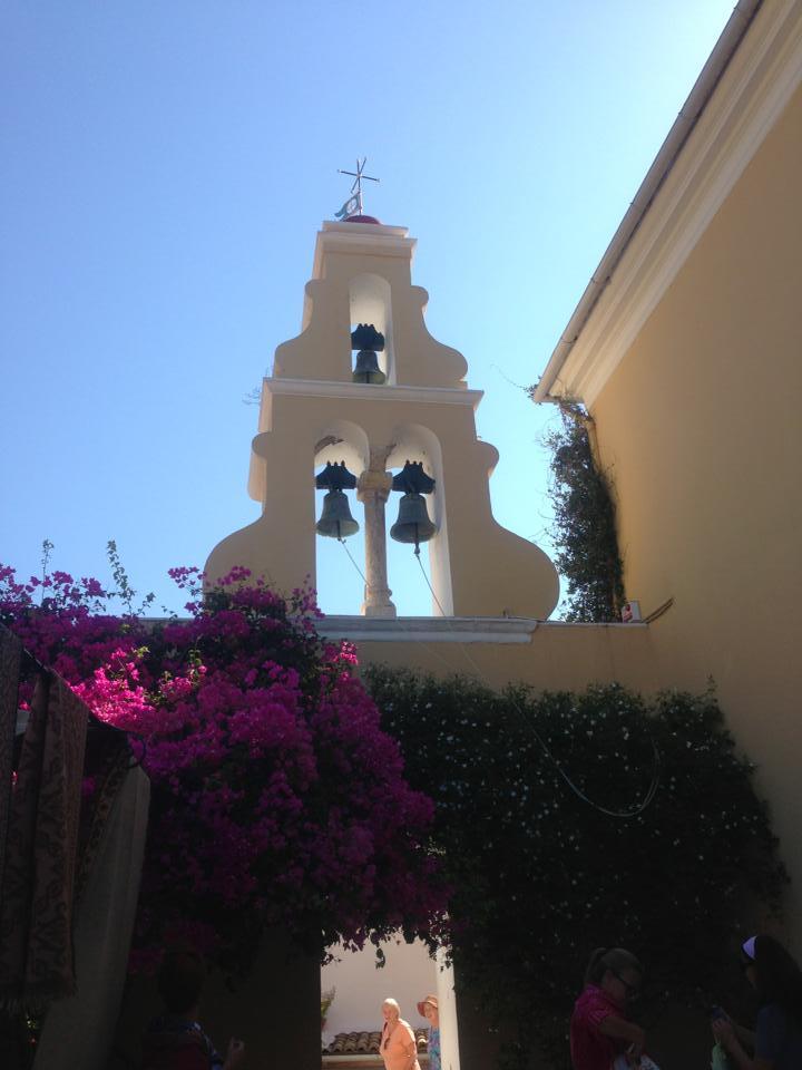 манастирът в Палеокастрица