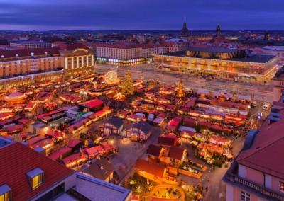 Преди Коледа в Прага и Дрезден